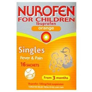 Nurofen : Nurofen For Children 16 Sachets