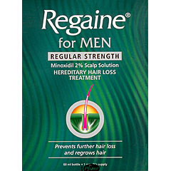 Regaine : Regaine Regular Strength 60ml