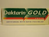 Daktarin : Daktarin Gold Cream 15g - Click Image to Close
